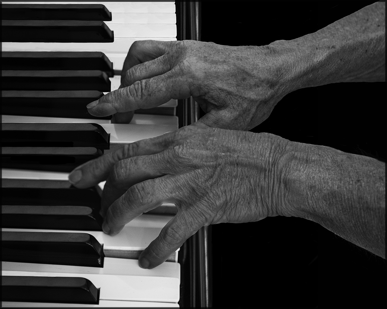Piano Hands - George Peterson
