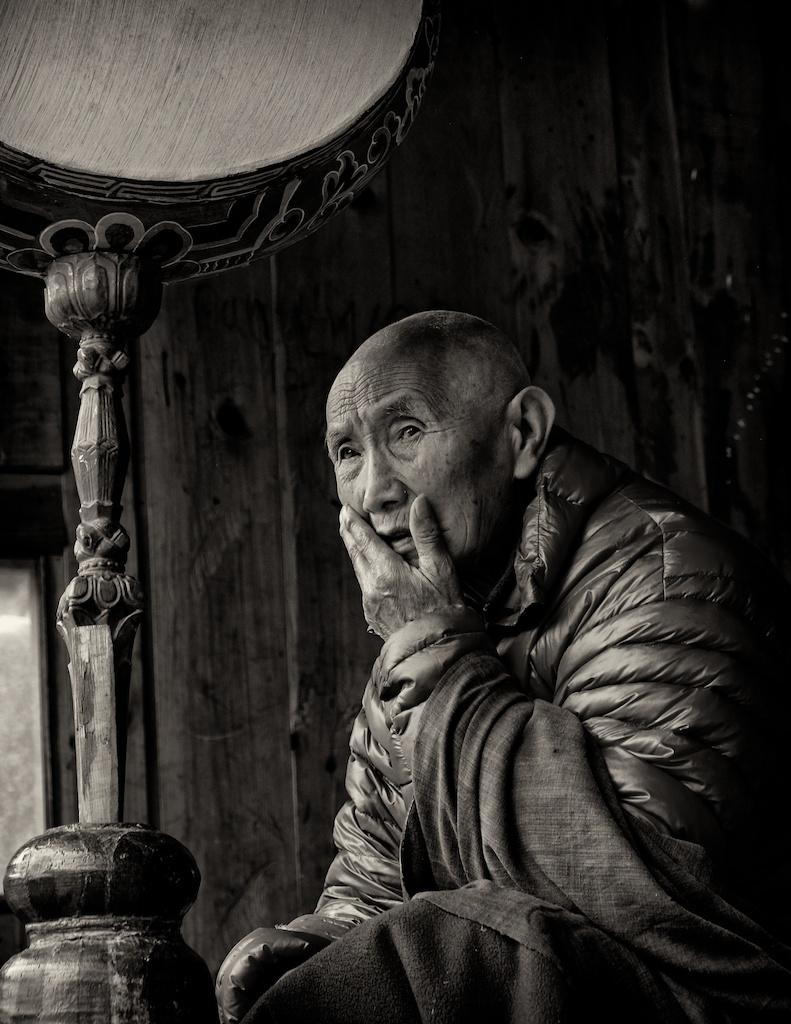 An Elder Monk B2 Richard  -