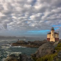 Lighthouse Dawn Bandon - John Petersen