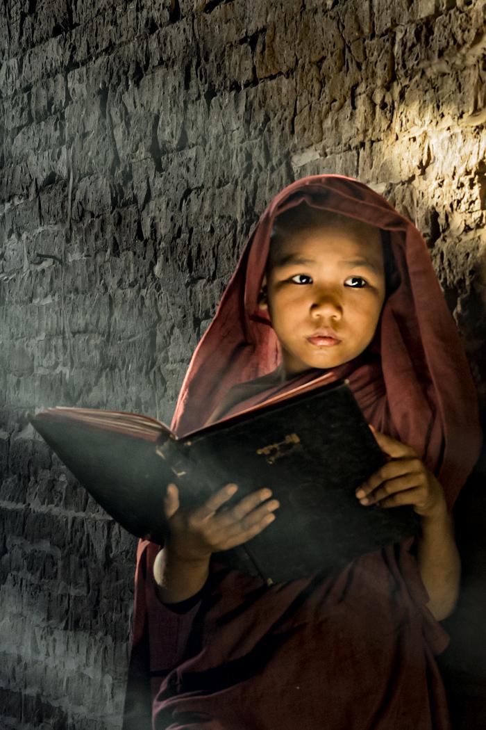 Young Monk - Susan Quinn
