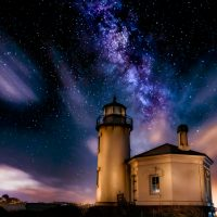 Coquille Lighthouse - Linda Rodgers
