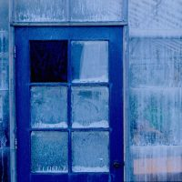 Composition With Blue Door - Ken Deveney