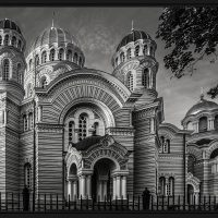 Riga Church - George Peterson